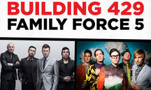 Geneva College announces Building 429 and Family Force 5 concert