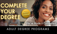 Adult Degree Programs offers tuition credit