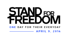 Stand for Freedom on April 9